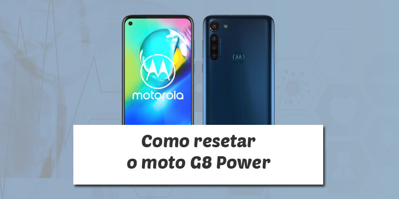 Hard reset moto g8 power